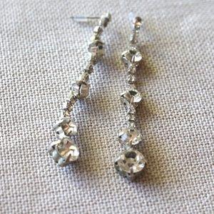 WINDSOR Diamond Drop Earrings